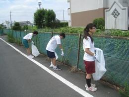 第二大場川清掃ボランティア